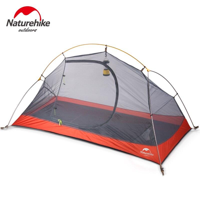 NatureHike силиконовые портативные сверхлегкие палатки водонепроницаемые 4000 + палатки двухслойные наружные туристические палатки - 4