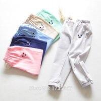100 Cotton Trousers Boys Pants Kids Harem Pants Girls Sport Leggings Children Pantalon Garcon Elastic Waist
