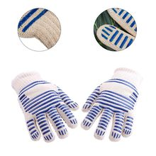 Heat Proof Resistant Cooking Kitchen Oven Mitt Glove Hot Surface barbecue oven glove Cooking BBQ Grill Glove Oven glove цена