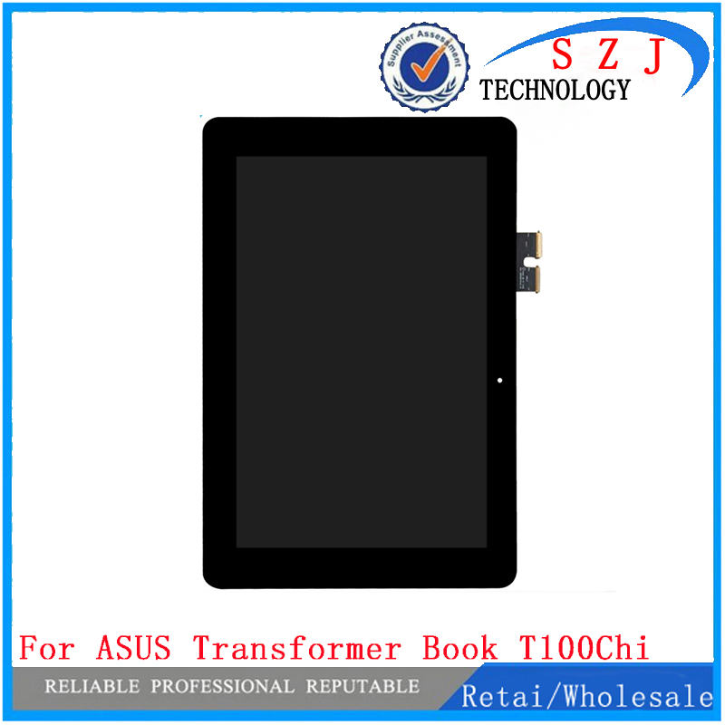 New 10.1'' inch For ASUS Transformer Book T1Chi T100Chi T1 CHI T100 CHI LCD Display Panel Touch Screen Digitizer Glass Assembly new for asus eee pad transformer prime tf201 version 1 0 touch screen glass digitizer panel tools