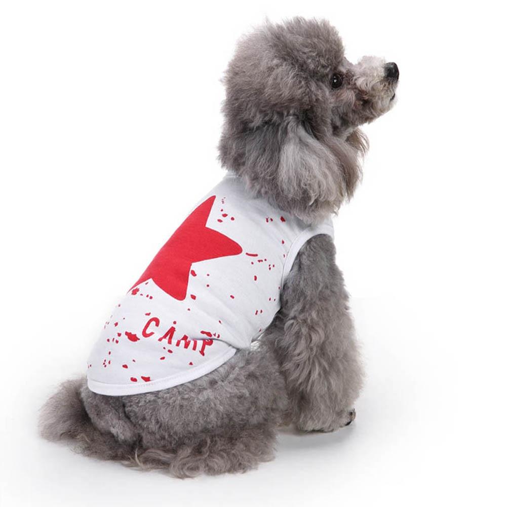 Cotton Dog Vests Puppy T-shirt Summer Pet Apparel Dog Vests for Pets Hot Sale