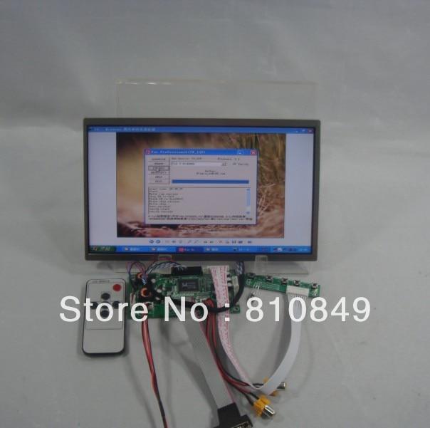 VGA+2AV+Audio+Reversing Lcd driver board+10.1inch N101BGE 1366*768 Lcd Panel hdmi vga 2av reversing driver board 8inch at080tn52 800 600 lcd panel