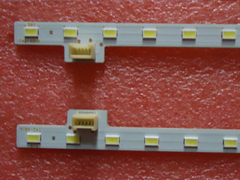 2 Pieces/lot LED Strip For KDL-42W650A 74.42T35.001-0-DX1 74.42T31.002-0-DX1 13510N 40 LEDs 463MM,used Parts