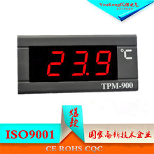 TPM-900 embedded car water temperature display table digital thermometer thermometer display cabinet thermometer manufacturer(China)