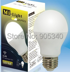 2 4G Smart phone control E27 6W WiFi LED Bulbs Light Led Color Temperature adjustable Dimmable