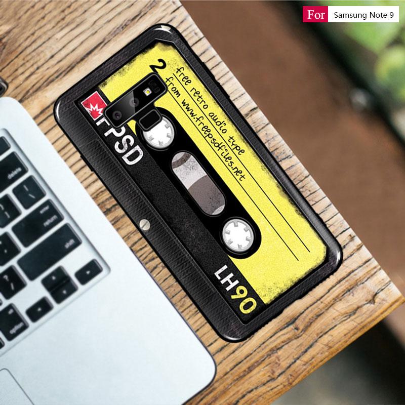 Retro Camera Cassette Tapes Soft Silicone TPU Phone Case For Samsung Galaxy S10 S10e Note9 Note 9 8 S8 S9 Plus S7 A7 2018 M20