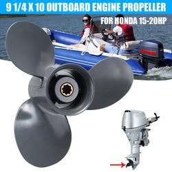 Audew Marine Barca a Motore Elica 9 1/4x10 Motore Fuoribordo Elica Per Honda 15-20HP
