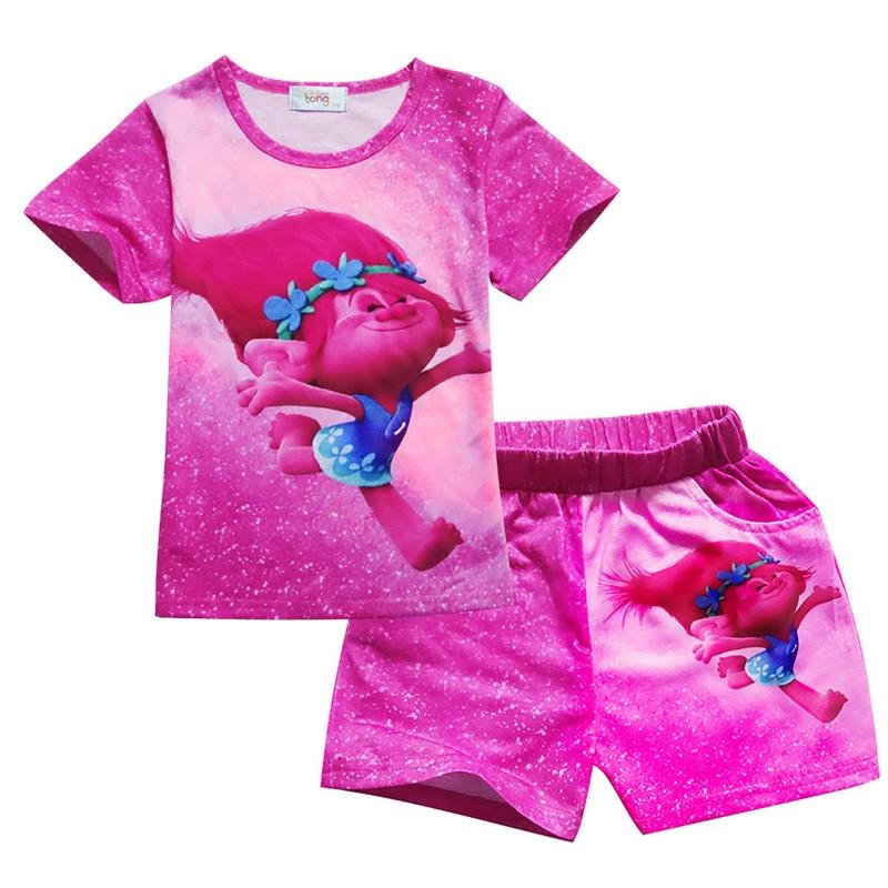 9f1d8a92 2019 Venta caliente del verano de dibujos animados de pijamas de bebé lindo  personaje de niños ...
