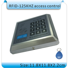 High quality FC-S02EEM  card + password access controller card (registered 1000 125KHZ ID card)+50pcs ID card