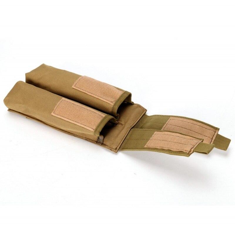 pistola revista bolsa militar paintball tiro caca mag coldre saco 02