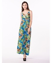2018 Bohemian Women Summer Dress V Neck Sleeveless Plus Size 6XL Sexy Backless Long Floral Maxi