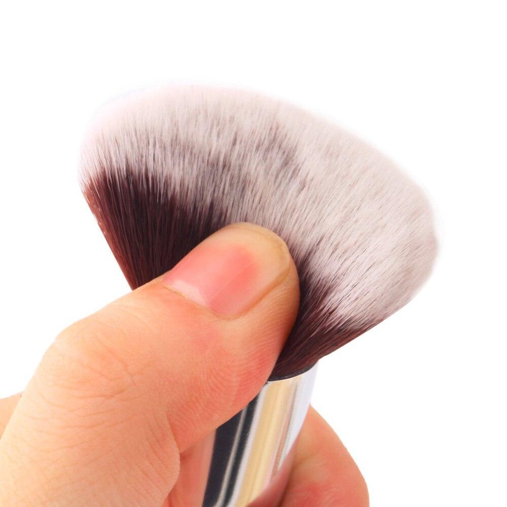 1pcs Angled Head Foundation Powder Blush Liquid Brush Kabuki Makeup Brush Set Cosmetics Tool Oblique Round Brush Worldwide Sale