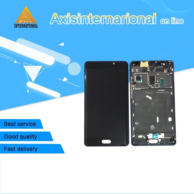 D'origine Pour 5.7 xiaomi note 2 mi note 2 Axisinternational LCD écran affichage + écran tactile digitizer avec cadre pour mi note 2