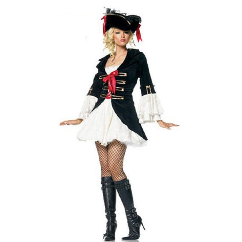 Costume Accessoires Femmes Sexy Cosplay Party Deluxe Pirate Adulte Cosplay Halloween Costumes Fantaisies Femme Cos Uniforme