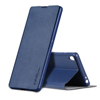 X Level Flip Case Soft Imported PU Luxury Leather Back Cover Full Protection For Sony Xperia