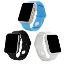 Gu08 del Bluetooth elegante reloj de pulsera Sport reloj de pulsera Unisex para Apple iPhone 4 5S 6 Plus Samsung Huawei Xiaomi HTC OPPO