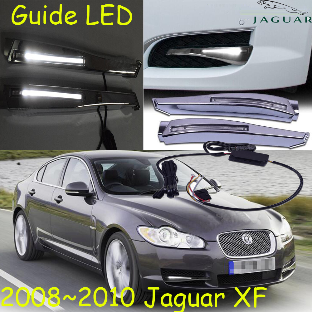 Jagua XF daytime light;2008~2010,Free ship!LED,Jagua XF fog light,2pcs/set;Jagua XF teana fog light 2pcs set led sylphy daytime light free ship livina fog light