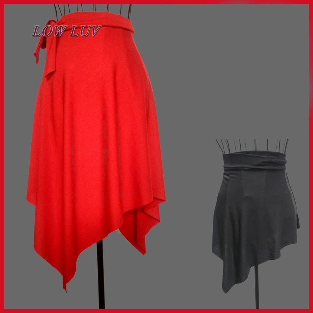 New multi-color adult practice a skirt Latin dancing dress skirt