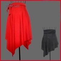 New Multi Color Adult Practice A Skirt Latin Dancing Dress Skirt