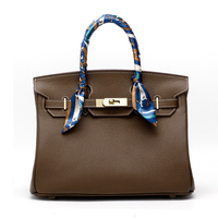 Genuine Leather Large Tote Bags For Women 2018 Luxury Handbags Women Bags Designer Hasp Lock Fashion
