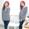 MamaLove Cotton Maternity Clothes Maternity t-shirt nursing clothes Nursing Tops Breastfeeding Clothes for Pregnant Women