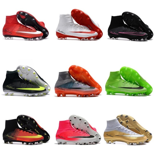 Soccer Shoes Men Elite FG High Ankle Firm Ground Football Boots Superfly Original FG Athletic Outdoor Cheap Discount Sock Cleats