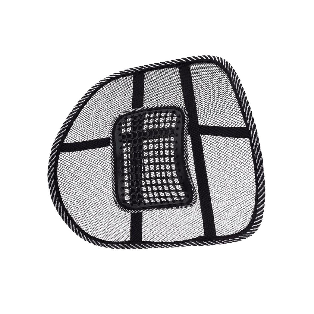 Universal Car Back Seat Support Mesh Lumbar Back Brace Support Cool Summer Car Seat Office Home