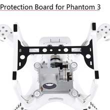 1pc Camera Plate Cover Holder Carbon Fiber Protection Board Gimbal Guard Protector for DJI Phantom 3 Spare Parts Accessories