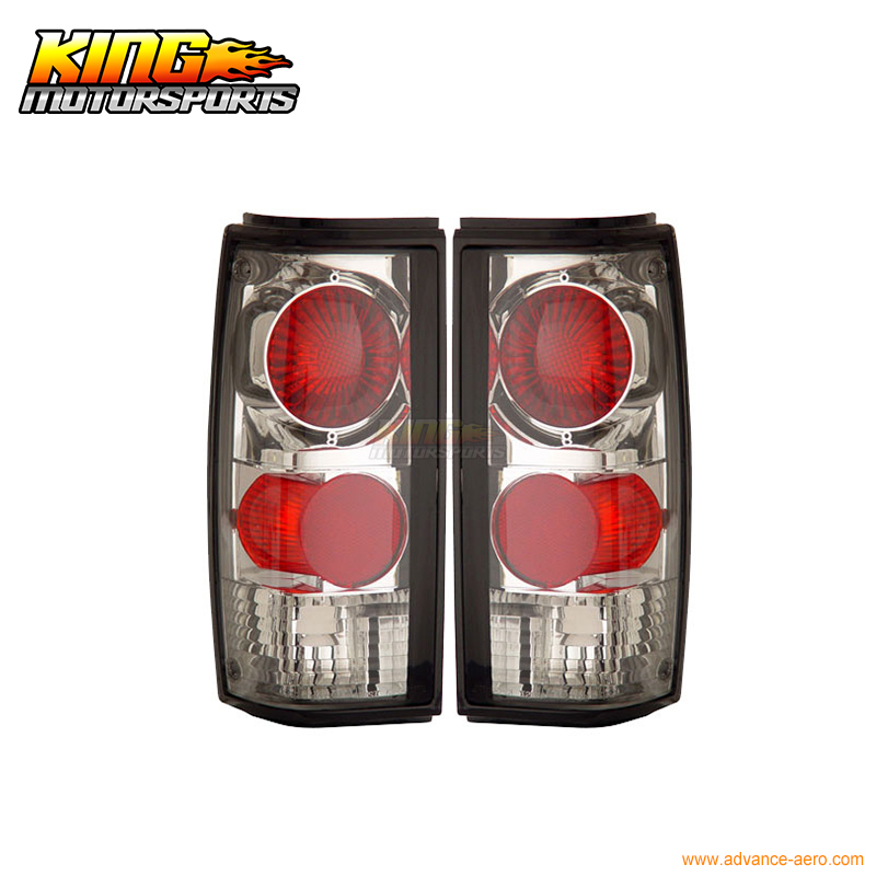 все цены на For 1982-1993 Chevy S-10 GMC Sonoma Tail Lights Chrome Lamps USA Domestic Free Shipping