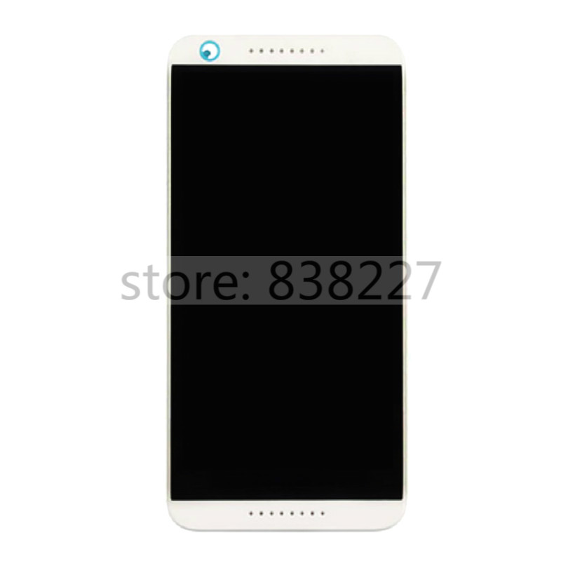 ФОТО 2pcs/lot LCD display touch screen For HTC Desire 626 LCD Screen with Digitizer + front Frame Grey & white complete lcd pantalla
