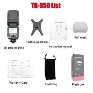 Image 4 - Triopo TR 950 Flash Speedlite universel pour Fujifilm Olympus Nikon Canon 650D 550D 450D 1100D 60D 7D 5D appareils photo reflex numériques