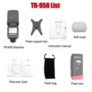 Image 4 - Triopo tr TR 950 Flash Light Speedlite Universale Per Fujifilm Olympus Nikon Canon 650D 550D 450D 1100D 60D 7D 5D Fotocamere REFLEX Digitali