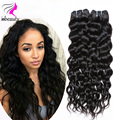 Indian Virgin Hair Natural Wave 4pcs 7A Indian Curly Virgin Hair Bundles Raw Virgin Indian Curly Hair Weave Natural Indian Hair