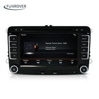 Android 5.1 2 DIN Car DVD player For VW Volkswagen Passat POLO GOLF Tiguan CC Skoda Fabia Rapid Yet Seat Leon GPS Radio screen