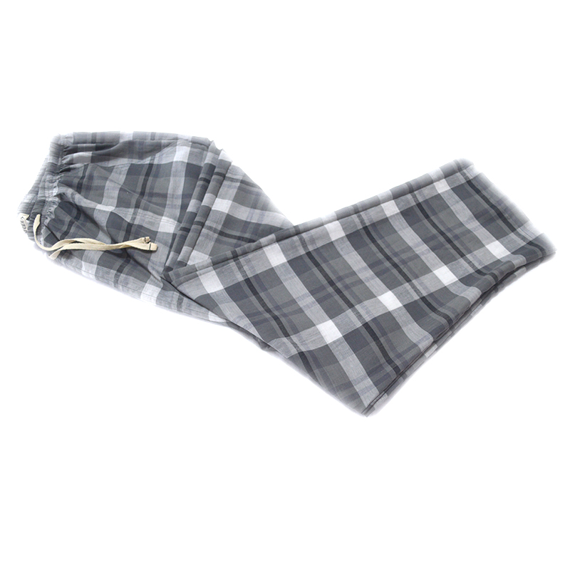 Super Soft 100% Cotton Plaid Spring/summer Men's Sleep Bottoms/pajamas Bottoms/sleepwear Pants/pajamas For Sleeping/man Pyjamas