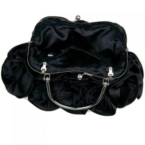 Paquet Banquet Roses Main La Portent Robes Noir Wholetide 5 Réception 6wqxBFFz
