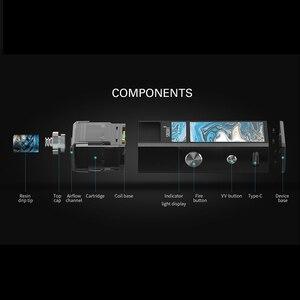 Image 4 - Original Smoant Pasito vape Kit with 1100mAh Top Adjustable  Airflow control system 3ml capacity E Cigarette VS Tesla 4X kit