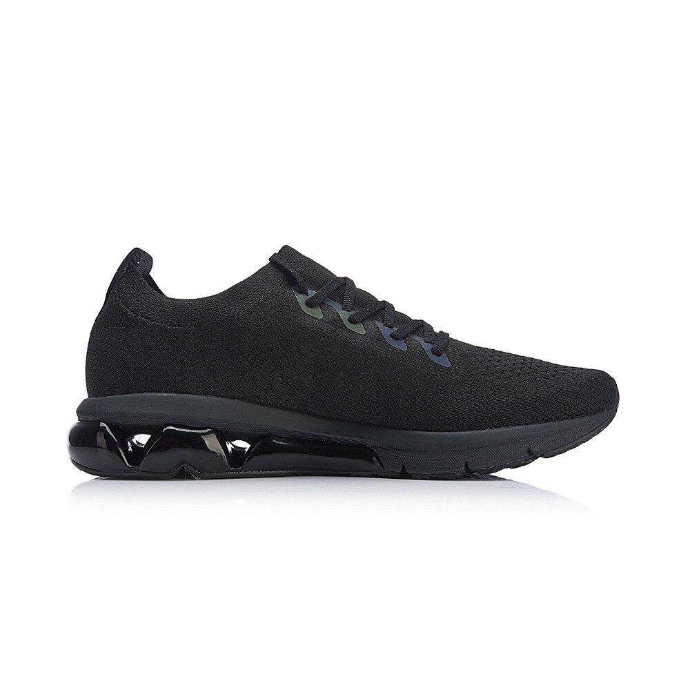 Li-ning hommes bulle ARC coussin chaussures de course réfléchissant Mono fil respirant doublure chaussures de Sport baskets ARHN049 XYP753 - 2
