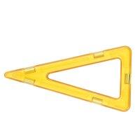 Aocoren 12pcs Big Triangle Magformers Magnetic Bricks Toys Educational Building Blocks Kids Toys