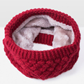Fashion !! New Knitted Winter Scarf For Women Scarf Kids Cashmere Scarves Brand Warm Neck Scarf Collar Plus velvet Drop Shipping