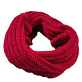 Luck Dog Knitted Circle Wool Scarf Shawl Wrap Winter Warm Collar