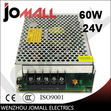60w 24v 2.5a Single Output switching power supply