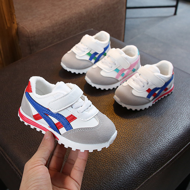 0 to 18 months baby boys and girls toddler shoes infant sneakers newborn soft bottom first walk non-slip fashion shoes