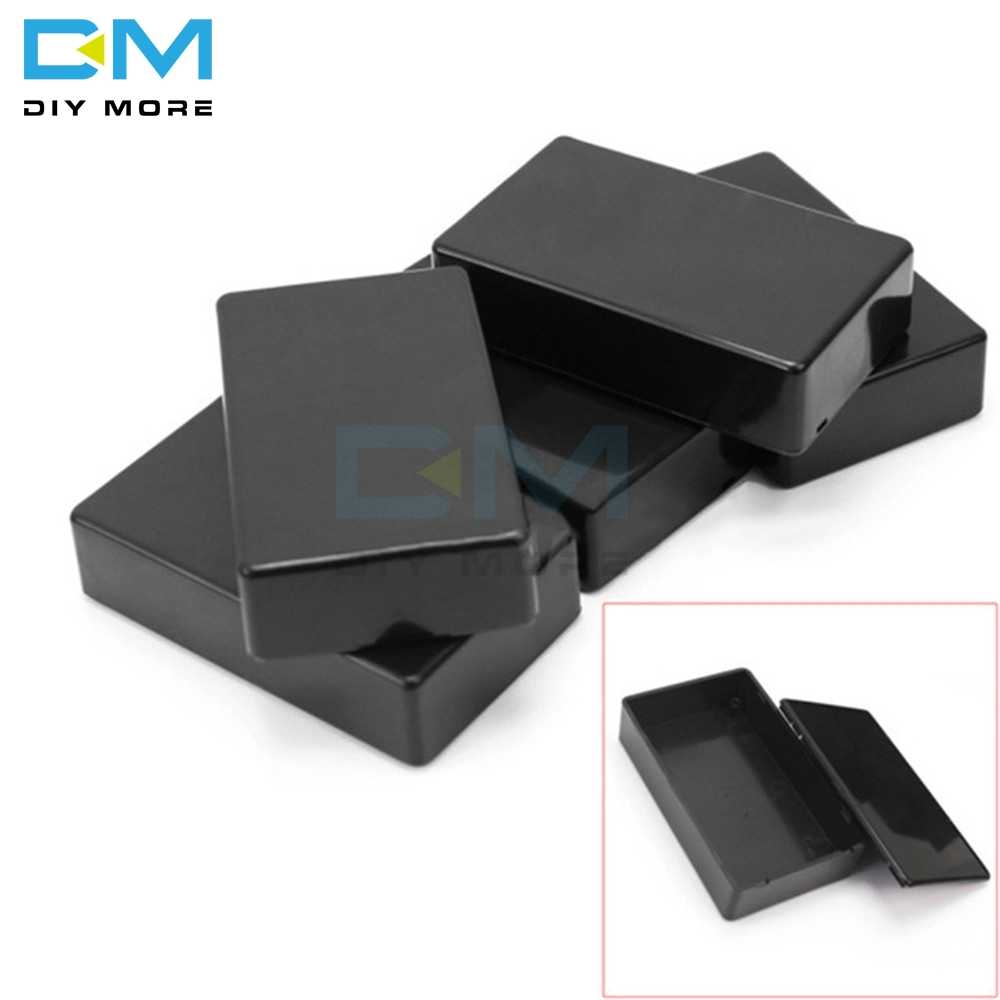 Proyek Elektronik Kotak Plastik Shell Case Kandang Instrumen Case 100X60X25 Mm 10X6X2.5 CM