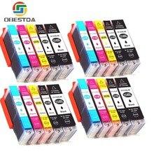 Obestda Compatible 550 551 XL Ink Cartridge Replacement for Canon PGI-550XL PGI550 PGI 550 CLI551 for PIXMA IP7250 MG5450