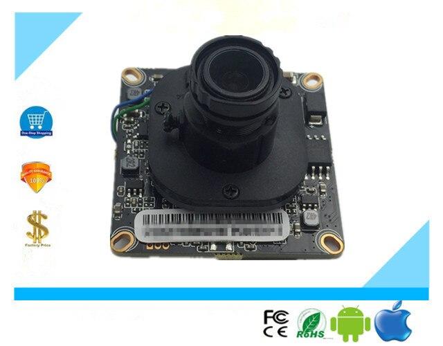 3516E+Sony IMX307 Low illumination H.265 1080P IP Camera Module Board Low illumination Panorama FishEye 2.8-12mm Onvif XMEYE CMS
