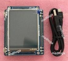แขน Cortex M3 Mini STM32F103VCT6 Development Board + 3.2 นิ้ว TFT LCD โมดูล 56kB แฟลช 48KB RAM