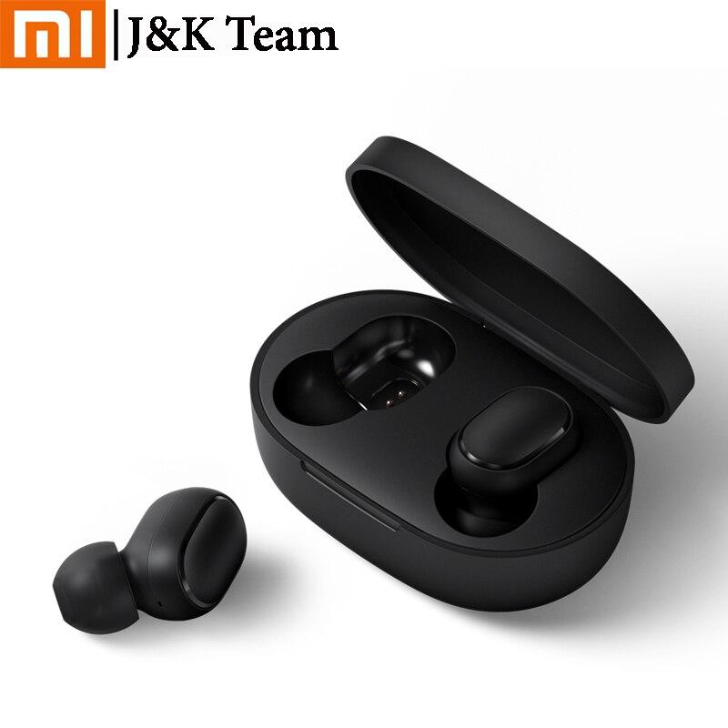 Instock Xiaomi Redmi Airdots Xiaomi auricular inal mbrico de control de voz Bluetooth 5 0 de