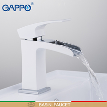 GAPPO basin faucet water tap Deck Mounted sink faucets mixer Taps basin faucet mixer waterfall faucet sink tap torneira faop basin faucets water tap sink faucet mixer white taps brass basin faucets waterfall sink tap bathroom faucet mixer