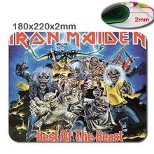 Новое Прибытие Лучшие Продажи Iron Maiden Кавалерист Нескользящей Ноутбук PC Игровой Резиновый Коврик Для Мыши Мне Мат для Optal Мыши